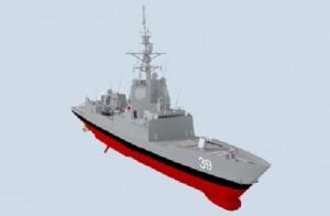 Australia's Hobart Class Air Warfare Destroyer. (Defence)