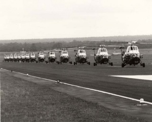 Wessex at HMAS Albatross taxiing for the 21st anniversary flypast.