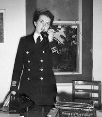 First Officer Bowden, Sydney, April 1945.