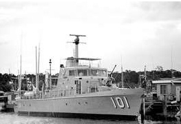HMAS Bayonet.