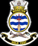 HMAS Moreton badge