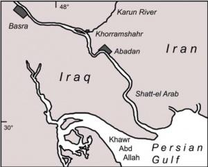 Shatt-el Arab Chart (Peter Cannon)