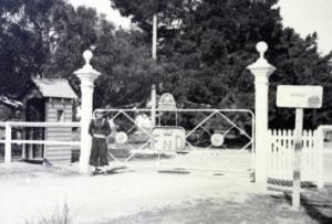 Historical gates.