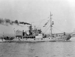 HMAS Kookaburra.