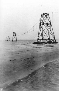 Pylon West Point. (NT Library Woodrow Collection)