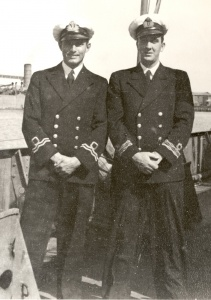 RANR officers in WWII.