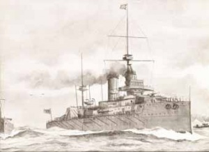 'An Australian Dreadnought, the Proposed Gift of the Commonwealth', The Leader, 3 April 1909 (RAN)