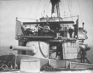 HMAS Sydney's Sopwith Camel ready for launch