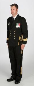 Winter uniform with sword (W1)
