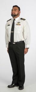 Winter regular day dress (W7 - Warrant Officer and Senior Sailor)