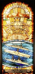 Memorial window, Garden Island Chapel