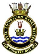 Royal Australian Naval Reserves logo.