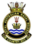Royal Australian Naval Reserves logo.