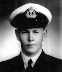 Sub Lieutenant Clif Wilkinson, RANR.