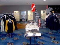 Fleet Air Arm Museum shop.