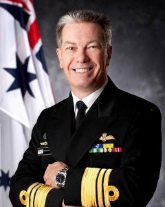 Vice Admiral Tim Barrett, AO, CSC, RAN, commanded 817 Squadron in 1996-1997.