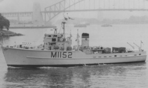 HMAS Teal arrives in Sydney on 7 December 1962.