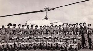 3rd Contingent RAN Helicopter Flight Vietnam.