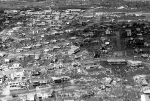 Darwin in the aftermath of Cyclone Tracy.