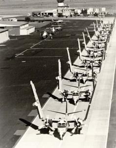 Trackers at HMAS Albatross.