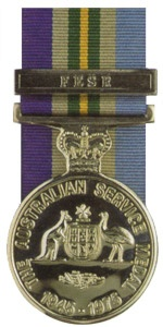 Australian Service Medal - Far East Strategic Reserve.