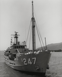 HMAS Bass, one of the many vessels used as a training ship for the RANR.