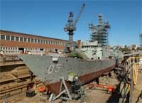 Boat docking Facility.