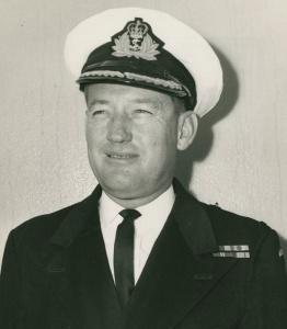Captain IW Broben, RAN.