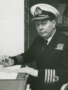 Captain IM Burnside, RAN assumed command of HMAS Stalwart on 13 January 1974.