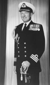 Commander John Stevenson.