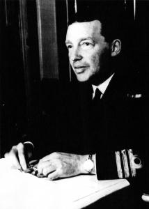 Commander (later Captain) Harvey Newcomb.