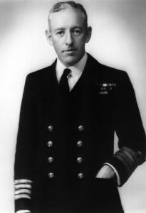 Captain Harry Howden, OBE, RAN.