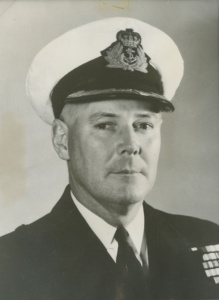 Captain JM Ramsay, RAN was appointed in command of Warramunga during her second tour of duty to Korea. For his leadership, judgement and coolness under fire in the Korean War, Ramsay was awarded the Distinguished Service Cross.