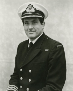 Captain P Ross, RAN