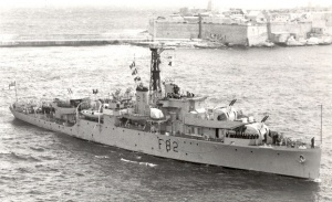 The Duke's first and only naval command, HMS Magpie.