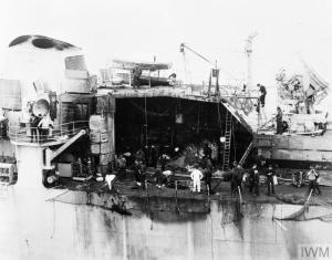 HMS Glamorgan.