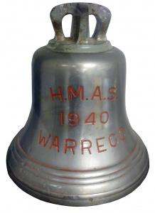 HMAS Warrego's Ships Bell