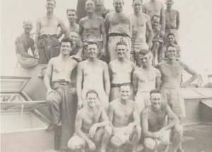 Crew members from HMAS Whang Pu, circa 1944.