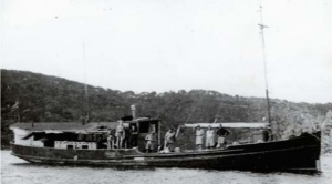 HMAS Krait in 1944.