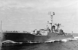 HMAS Yarra.