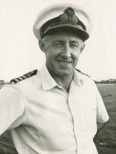Captain MW Hudson, RAN.