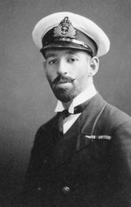 Lieutenant Harry Howden, circa 1922.