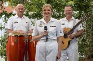 RAN Band Melbourne Acoustic Trio A 2021.