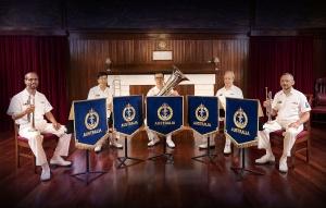 RAN Band Melbourne Brass Quintet 2021.