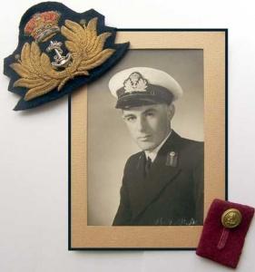 Midshipman John Dowey, RANR.