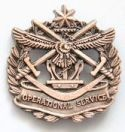 Operational Service Badge.