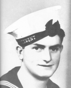 Ordinary Seaman E Sheean who remained at his post firing his gun as Armidale went down. His heroic action saw many of his shipmates saved but ultimately cost him his life.