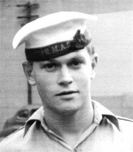 Poyang sailor, Ordinary Seaman Peter Miles.
