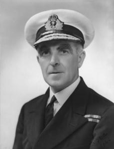 Rear Admiral John Crace, RN.