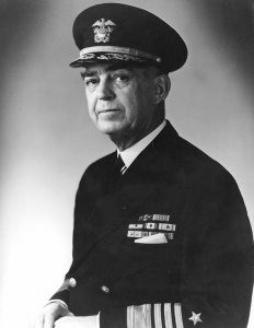 Rear Admiral Thomas C Kinkaid, USN.